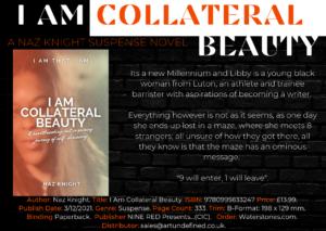 I Am Collateral Beauty Novel Sell sheet