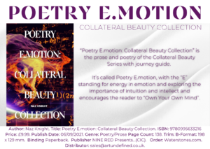 Poetry E.Motion Collateral Beauty Collection Sell sheet
